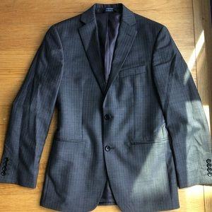 Grey Marc Anthony Slim Fit Blazer